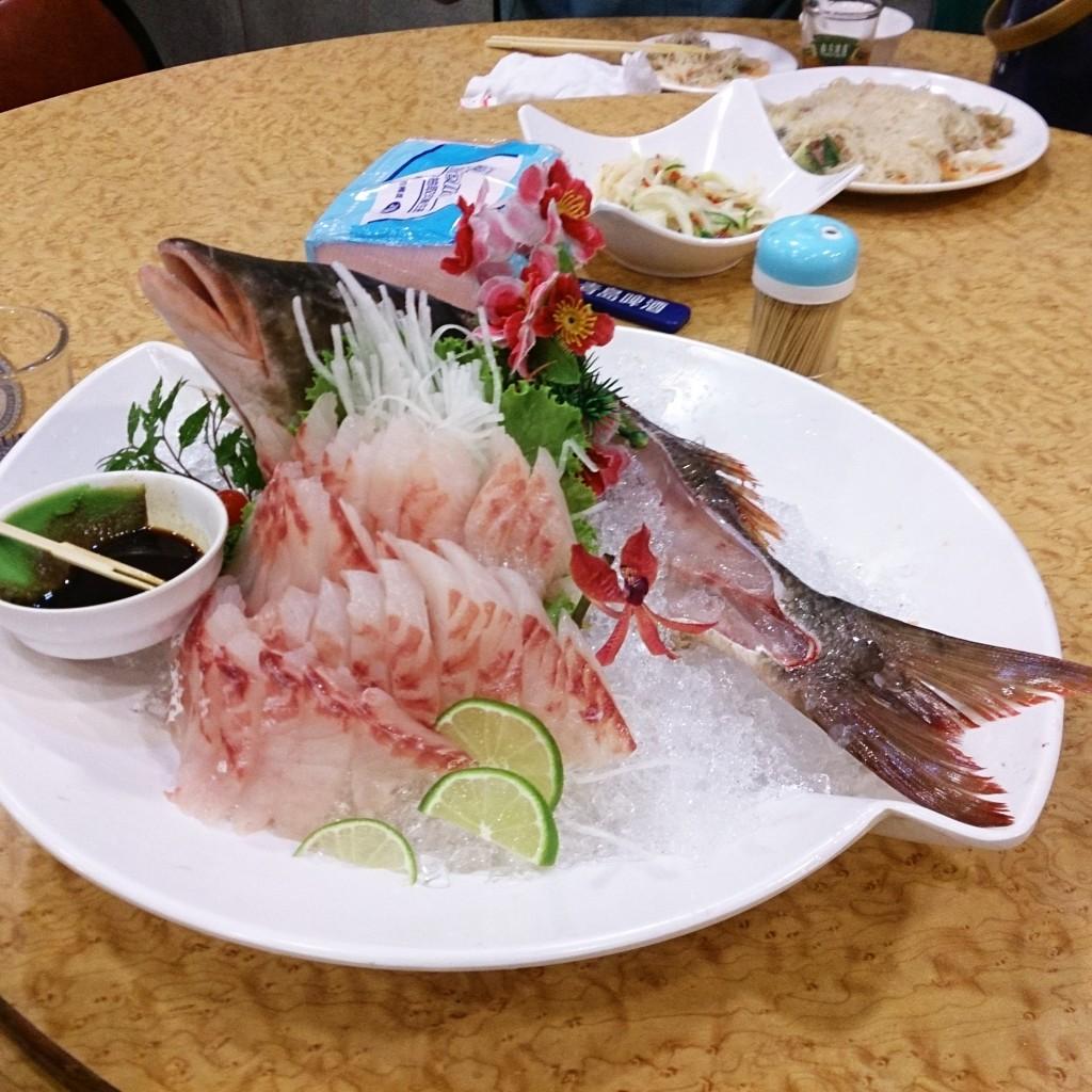鵝肉城活海鮮刺身2