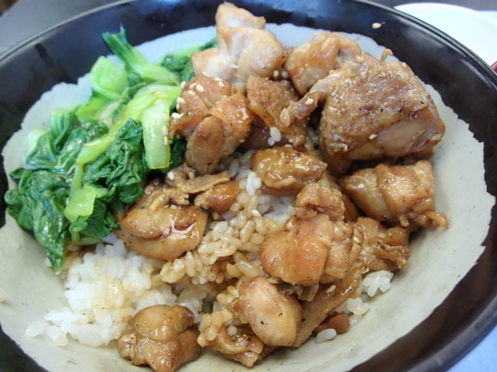 空港食堂の焼鳥丼4