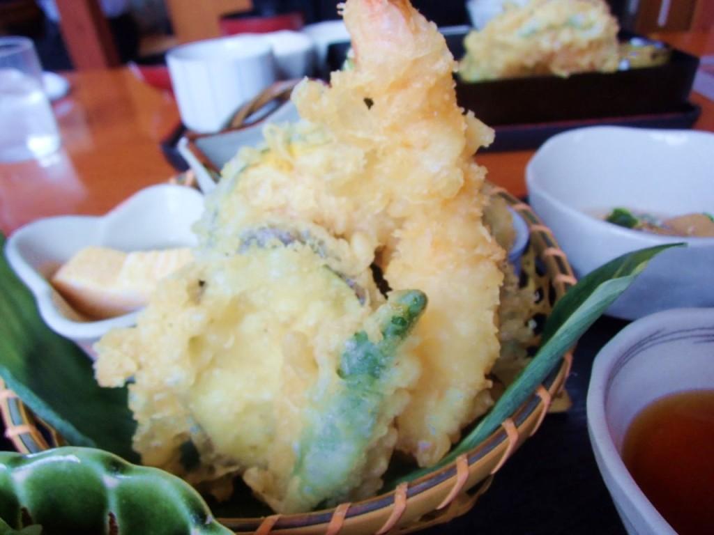 月の魚天ぷら