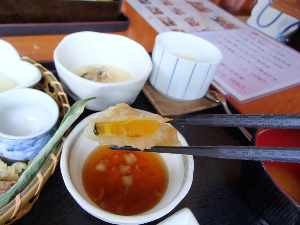 月の魚天ぷら2