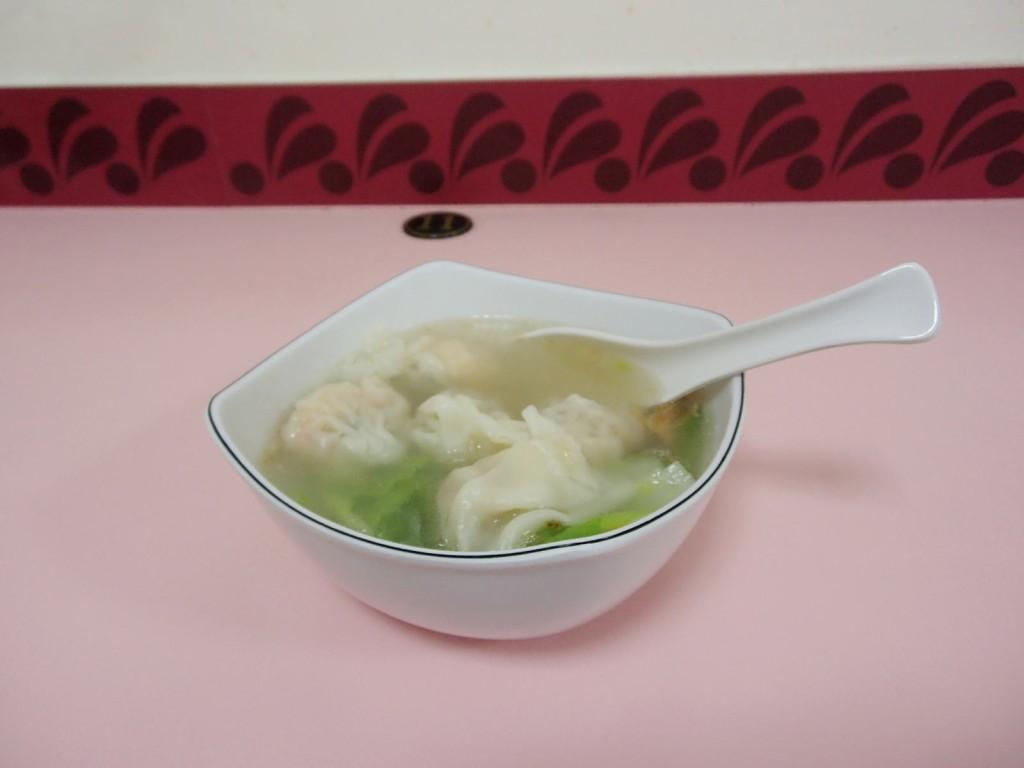 晴光明傳統美食坊の海老ワンタン3