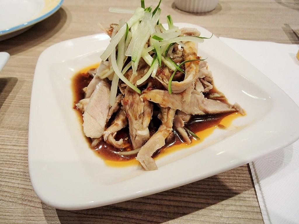 紅豆小館の鶏肉のピリ辛冷製
