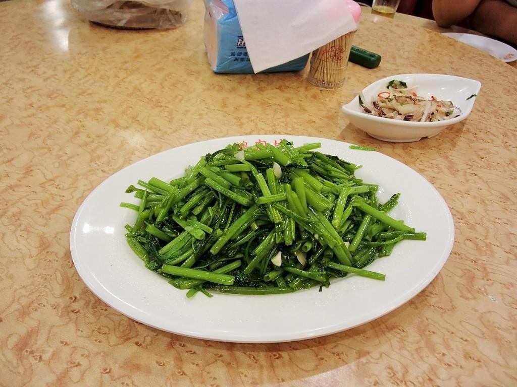 鵝肉城活海鮮空心菜
