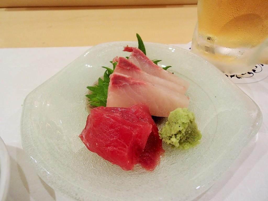 寿司割烹雛刺身