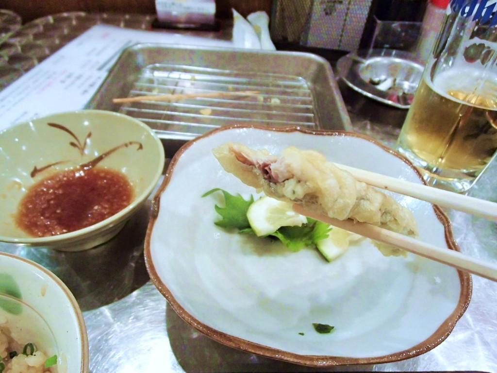 ぜんちゃんのさんまの天ぷら