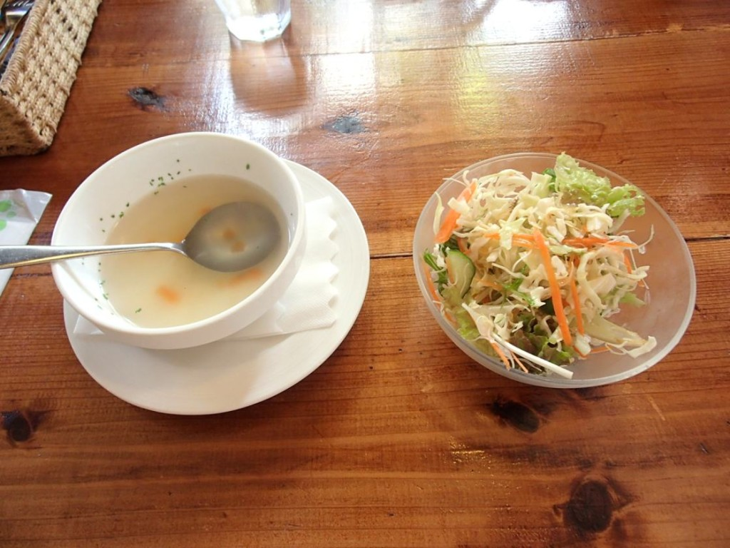 HAN'Sスープとサラダ