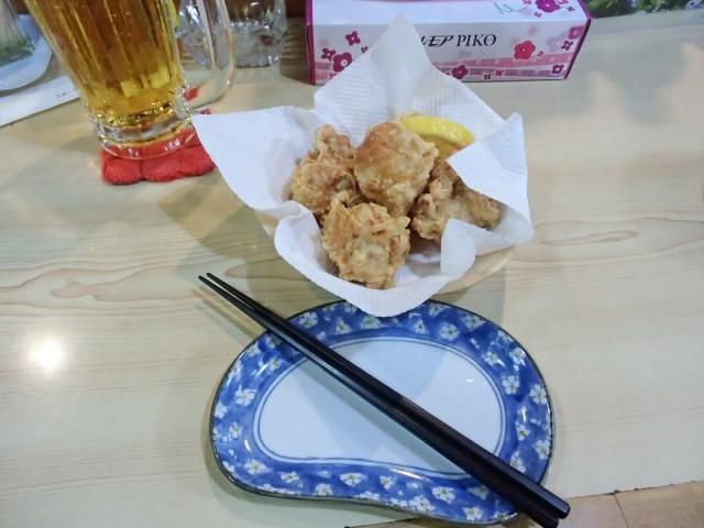 松乃屋の鶏から揚げ1