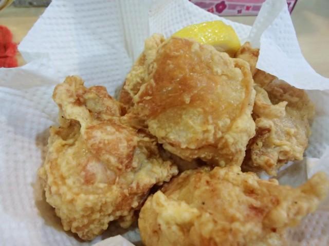 松乃屋の鶏から揚げ2