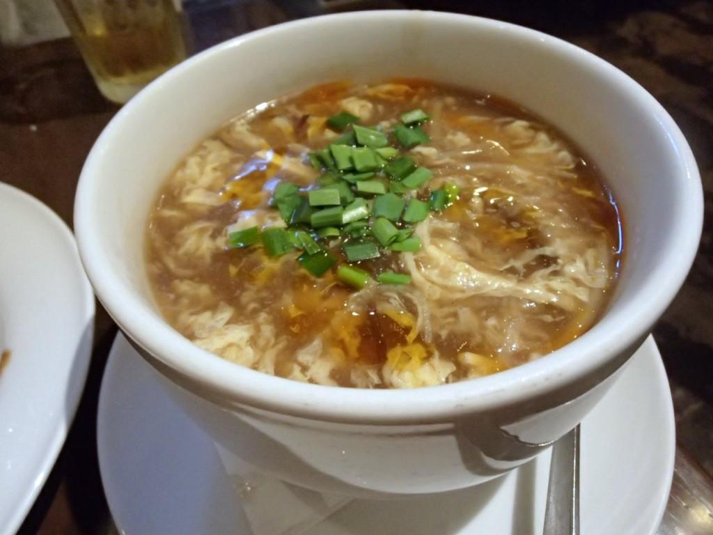 燕郷房の酸辣湯2