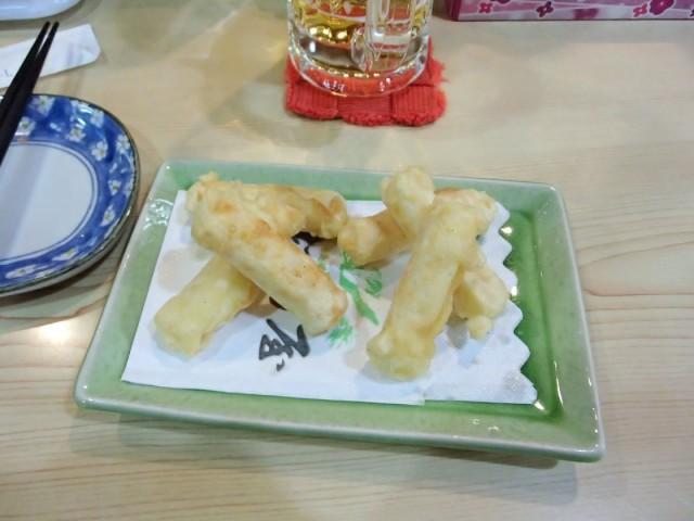 松乃屋のチーズ餃子1
