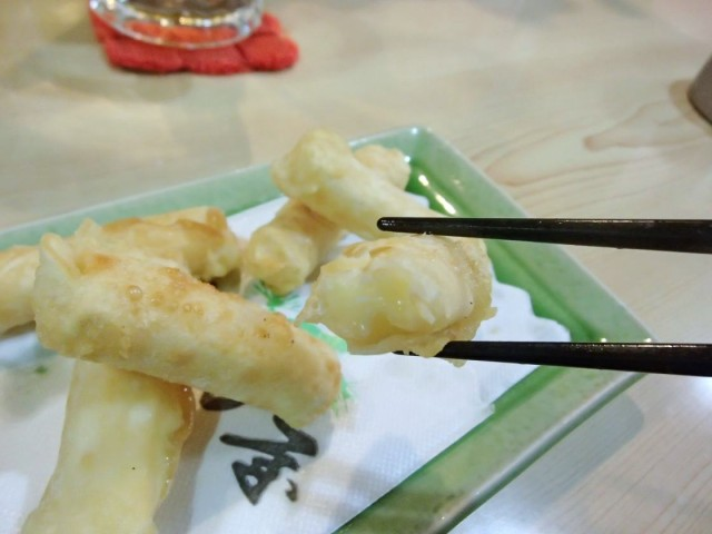 松乃屋のチーズ餃子2