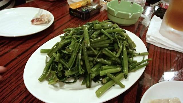 金燕楼の青菜塩炒め