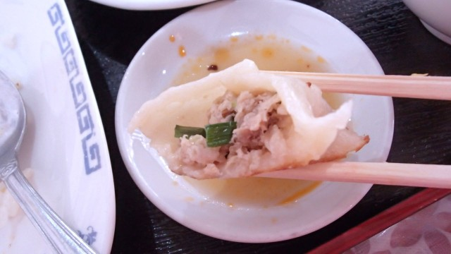 漢謝園の焼き餃子4