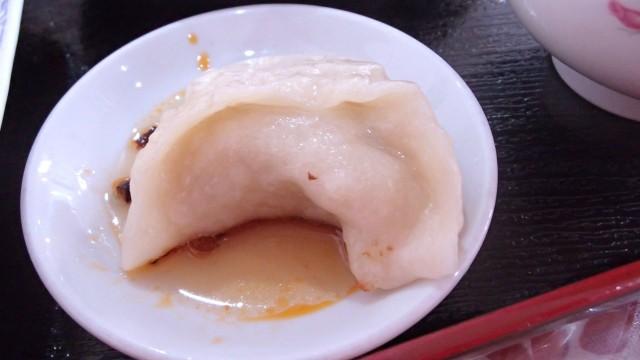 漢謝園の焼き餃子5