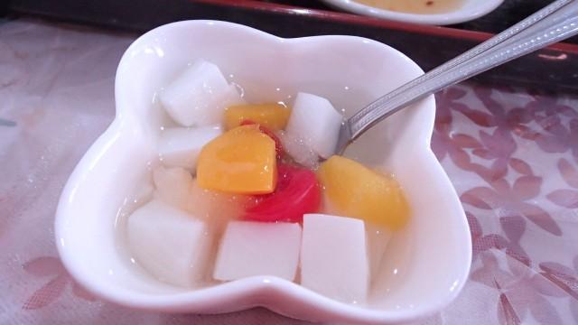 漢謝園の杏仁豆腐