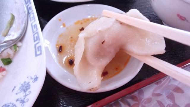 漢謝園の焼き餃子6