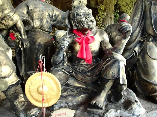金剛宮の五百羅漢様5