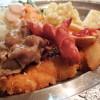 【那覇市 ブルボン食堂】王道のワンコイン定食!穴場の食堂でお得に満足