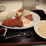 【那覇市 まきし食堂】国際通りのど真ん中!24時間営業の食堂で、B級グルメを!