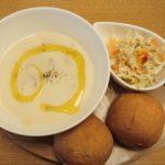 【那覇市 フロレスタ新都心店】体に優しいスープでブランチ!かわいいドーナツも女子におすすめです