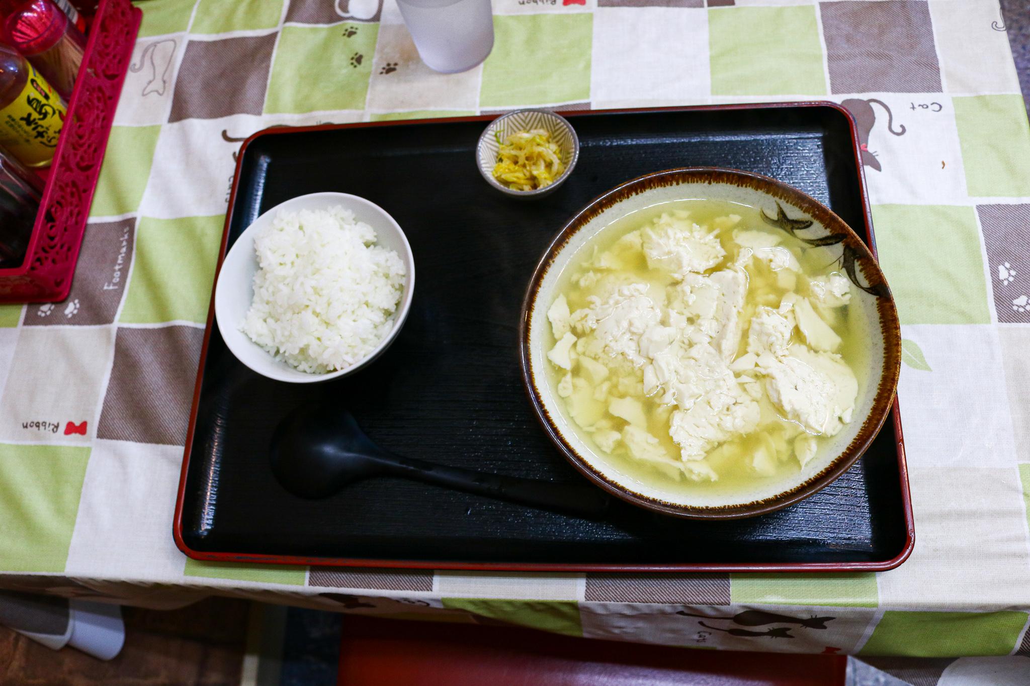 とん吉食堂_ゆし豆腐_3